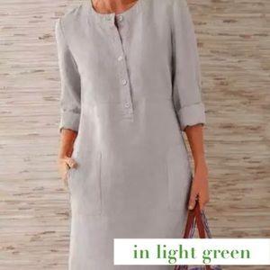 Beautiful Light Green Midi Dress